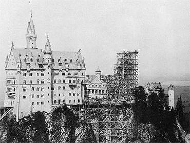 Bild: Bauzustand 1886