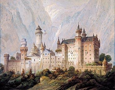 Image: Projet idéal du château de Neuschwanstein