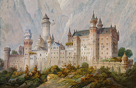 Picture: Ideal design for Neuschwanstein Castle
