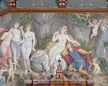 Picture: Tannhäuser in the Venus grotto