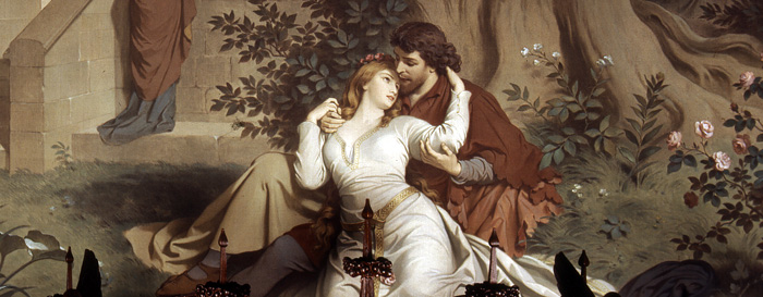 "Picture: Mural ""Tristan and Isolde"""