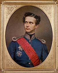 Image result for photo of Ludwig II of Bavaria