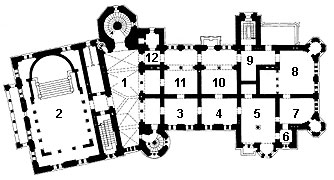 Picture: Plan of the 3rd floor