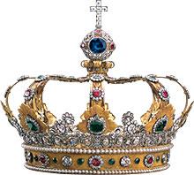 Bayerische schl sserverwaltung neuschwanstein castle children 39 s pages crown kit - Englisch krone ...